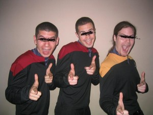 What I envision when someone mentions Star Trek.
