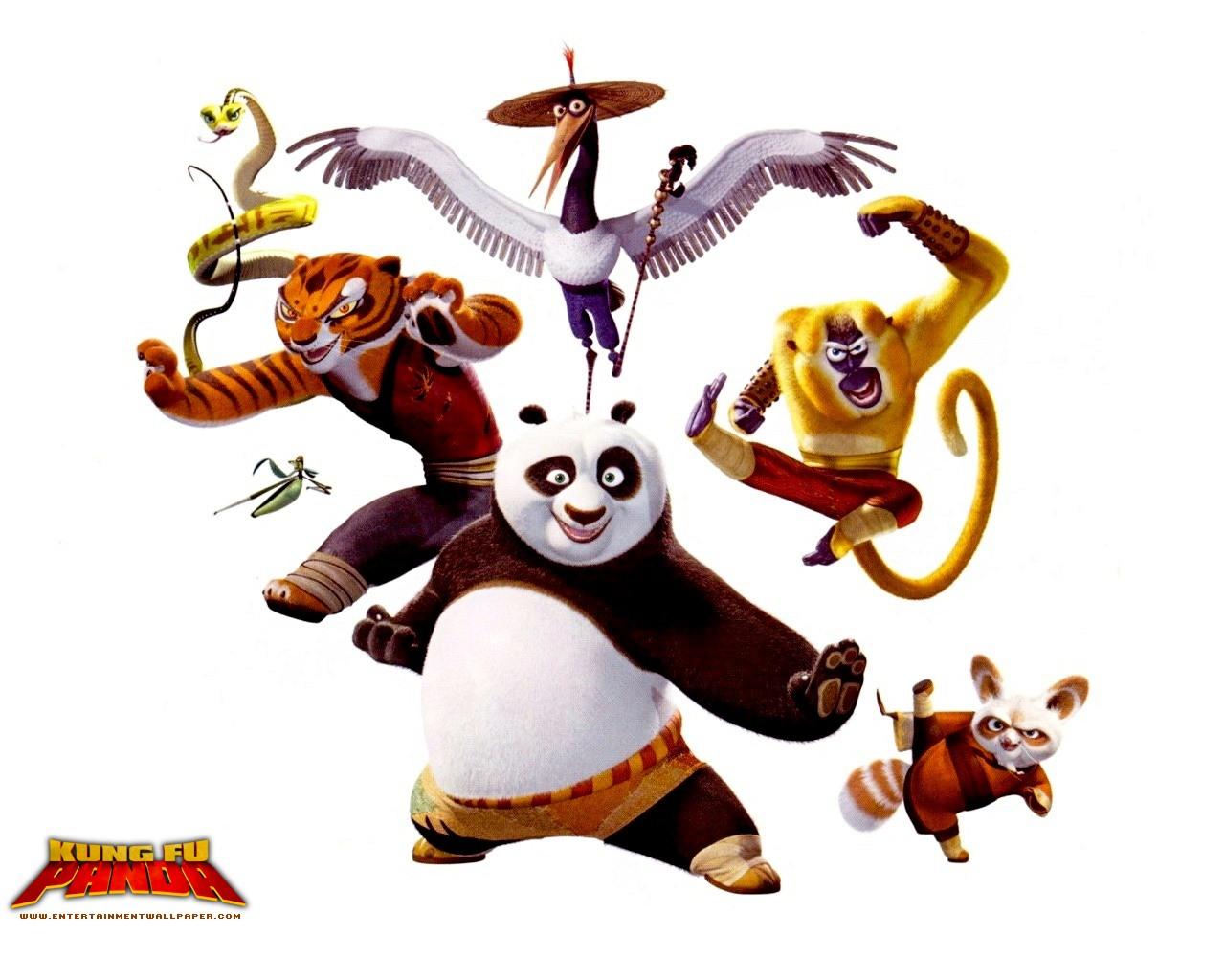 Kung Fu Panda 1 & ...