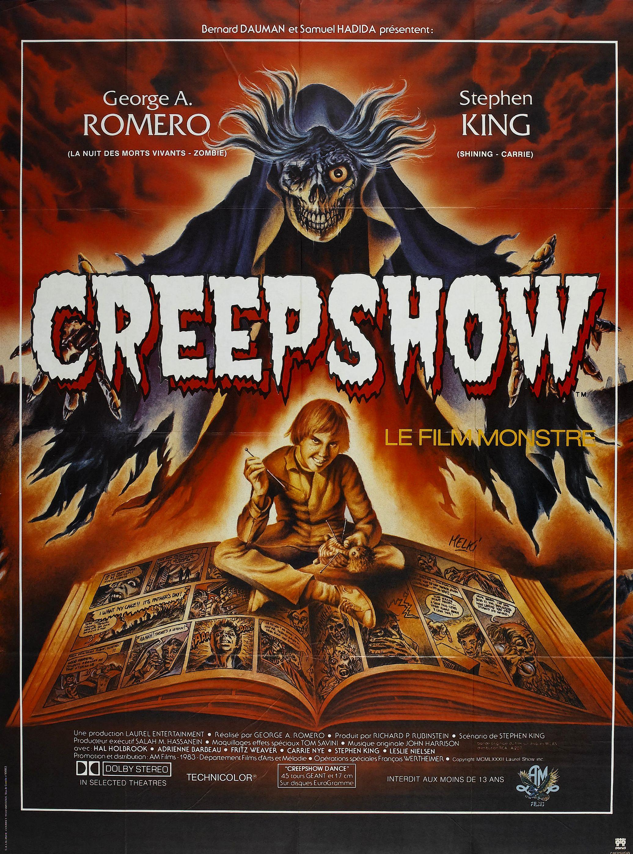 creepshow review one guy rambling
