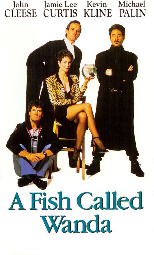 kevin kline in the movie a fish called wanda Michael palin, jamie lee curtis, john cleese and kevin kline in the 1988  comedy, a fish called wanda kline played the erratic thief otto, whom you  better.